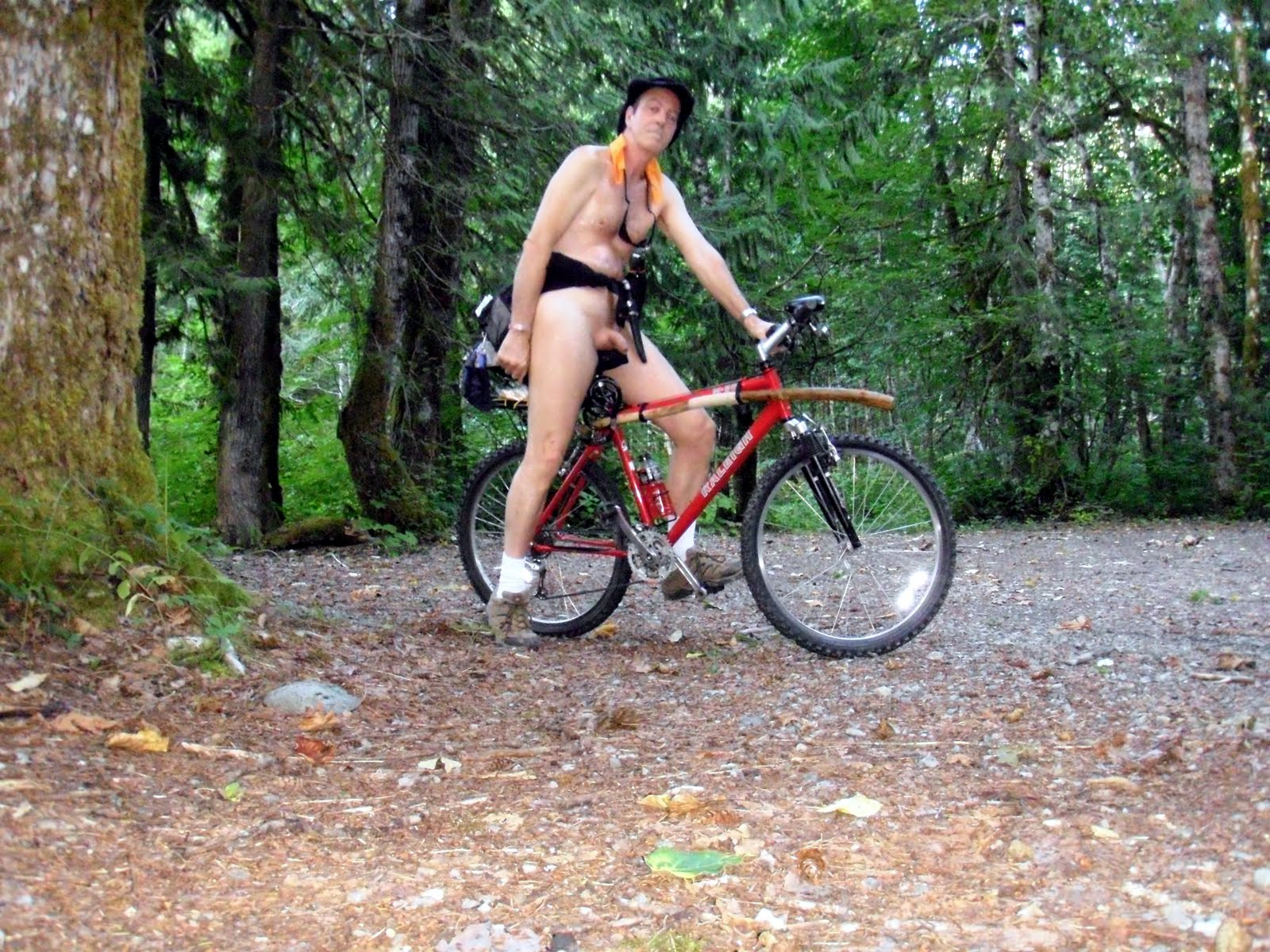 Naked Mountain Biking 63