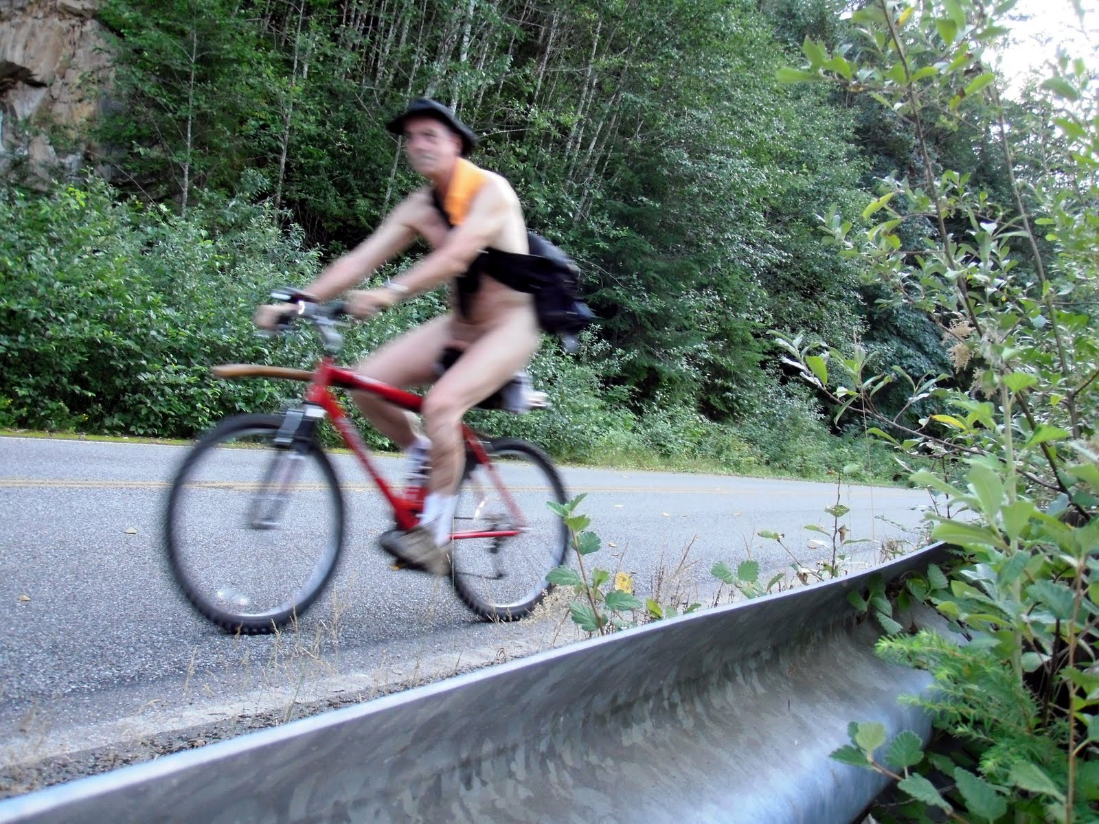 Nude Mountain Biking 112