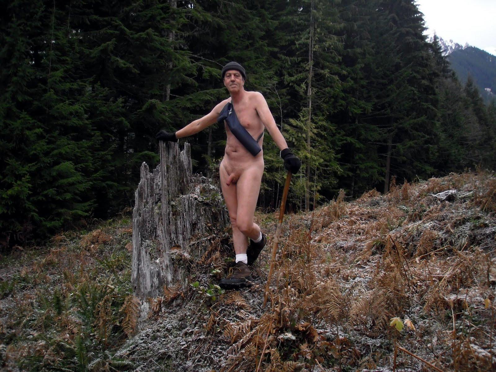 Naked Hiking