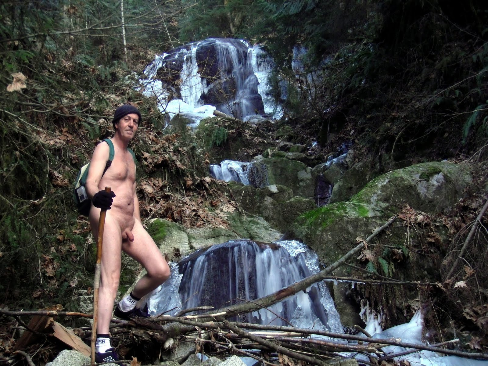 Canyon Creek Falls Nude Hike