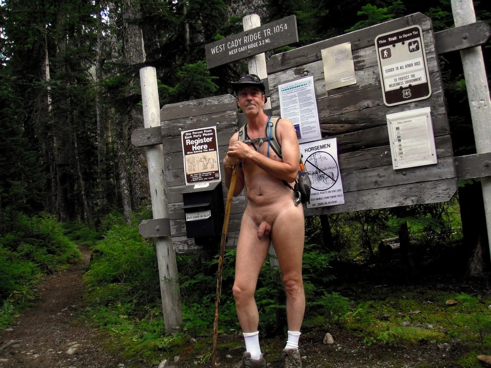 Nude hiking trails