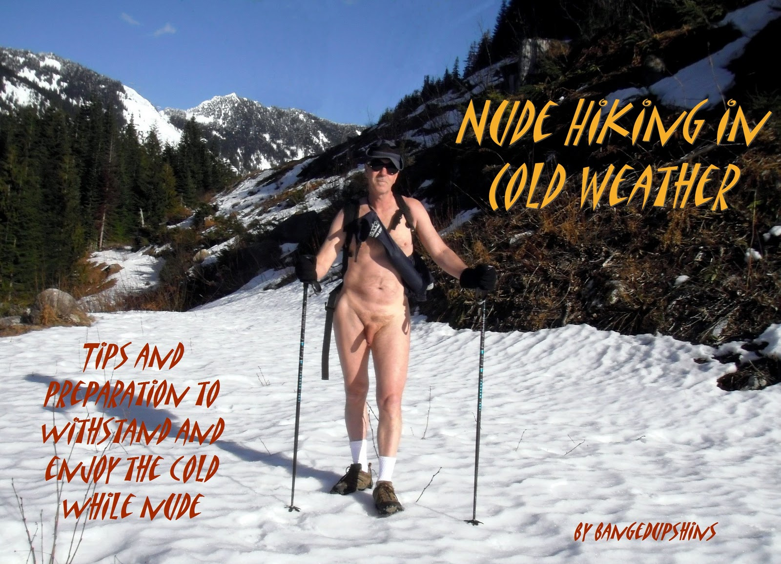 Cold Weather Nudity  Nude Hiking And Soaking In The -3584
